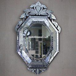 CD 004042 Venetian Mirror Style Murano