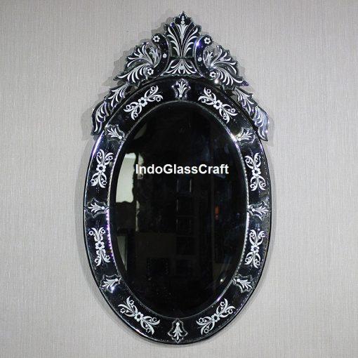 CD 004045 Venetian Mirror Oval Alya
